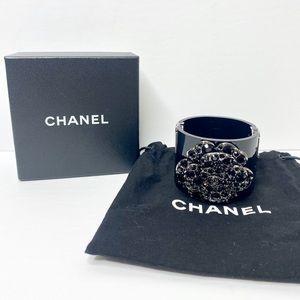 Authentic Chanel Festival Resin Camellia Cuff